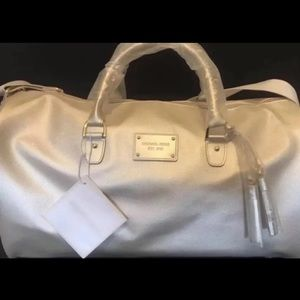 Michael Kors Duffel Bag Travel Weekender Gym Tote